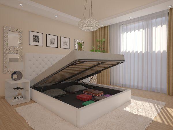 Cama Romantic Ideia Home Design