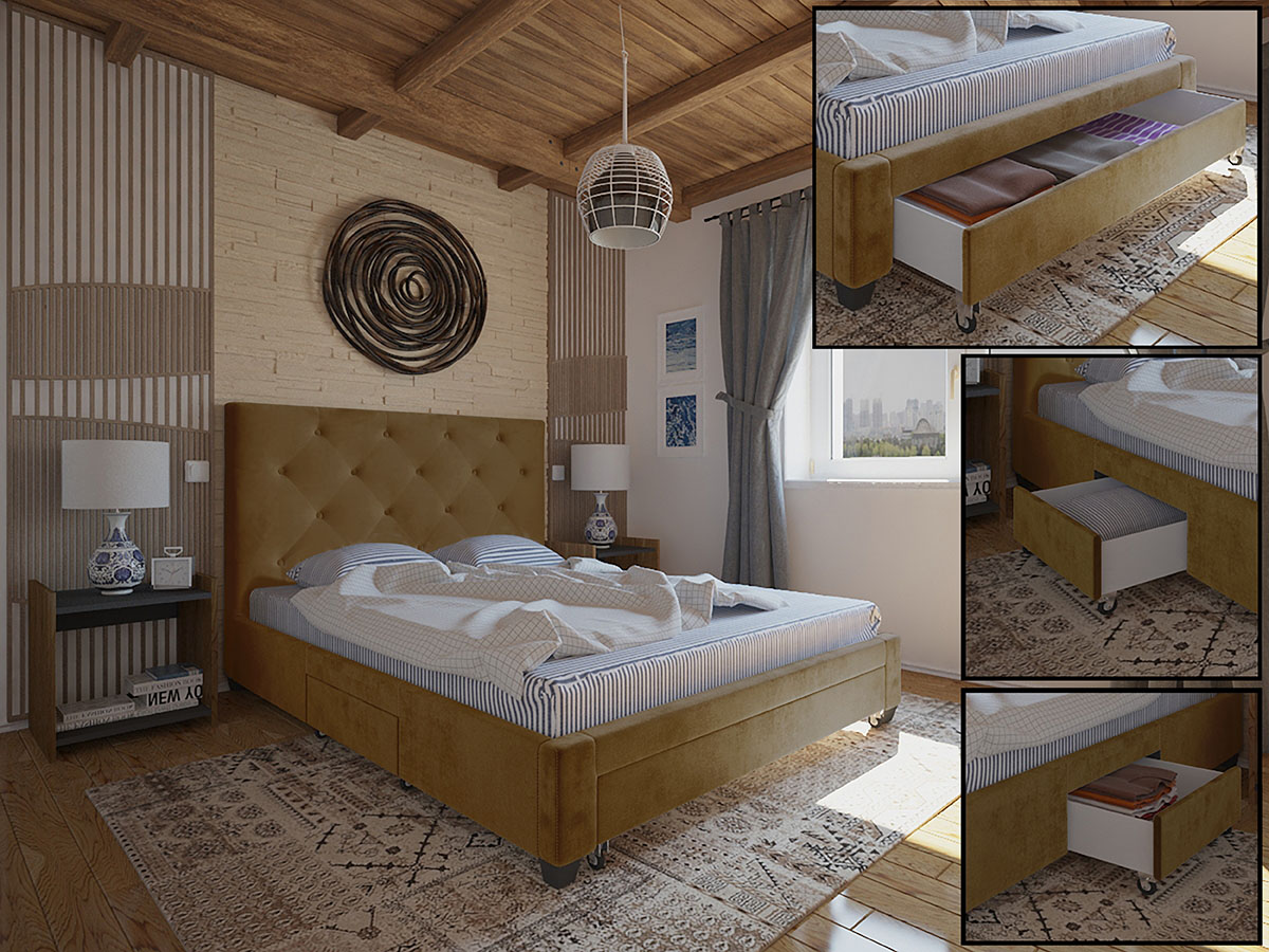 Cama Madrid Ideia Home Design